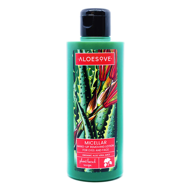 ALOESOVE Micellar Make-Up Removing Lotion for Eyes and Face